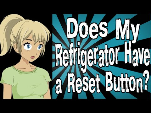 Does My Refrigerator Have a Reset Button?