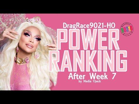 Power Ranking - After Week 7 of RuPaul's Drag Race Season 9