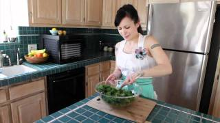 Sedona Rawfood Dehydrator by Tribest- Kale Chips Recipe