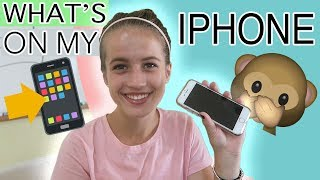 WHAT'S ON MY PHONE - IPHONE EDITION