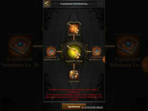 Clash Of Kings Synthesis Equipment All Equipment Support