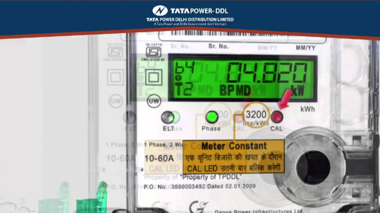 Tata Power –DDL Know Your Meter - YouTube