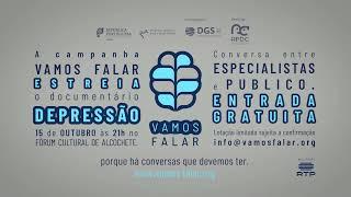 Promo estreia documentário VAMOSFALAR Depressão