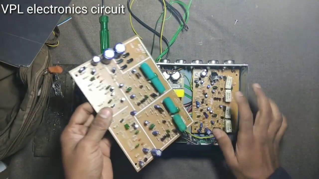 Car Usb Amplifier 3055 Trancesistor What Is Inside Youtube 10 Watt Circuit Diagram V P L Electronics