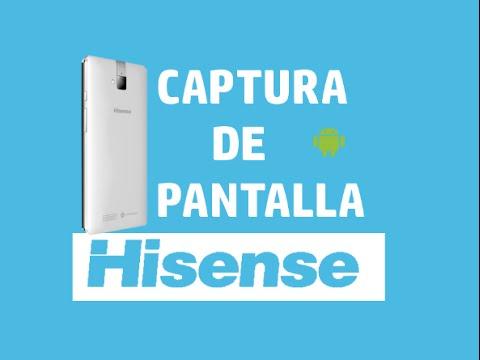Capturar pantalla en HISENSE HS-U980