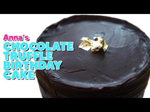 Chocolate Truffle Layer Cake | ANNA'S OCCASIONS