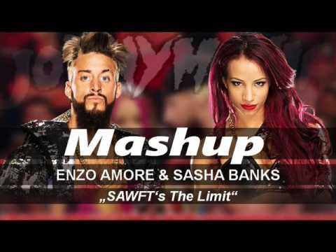 "WWE: ""SAWFT's The Limit"" - Enzo & Sasha Theme Song Mashup"