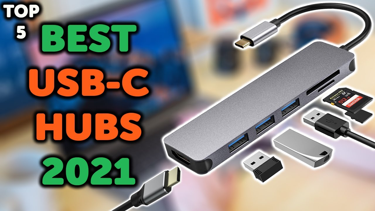 Download 5 Best USB C Hub 2021 | Top 5 USB C Adapters for Laptops & Macbooks in 2021