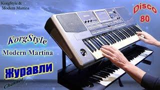 KorgStyle  -Журавли  (Korg Pa 900) Disco80