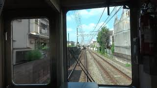 京王電鉄 準特急 新宿→橋本 Cabview:Keio Semi LTD.EXP. Shinjuku to Hashimoto