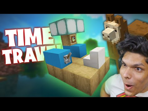 TIME TRAVELLING TO SAVE LAMA (minecraft part 15)
