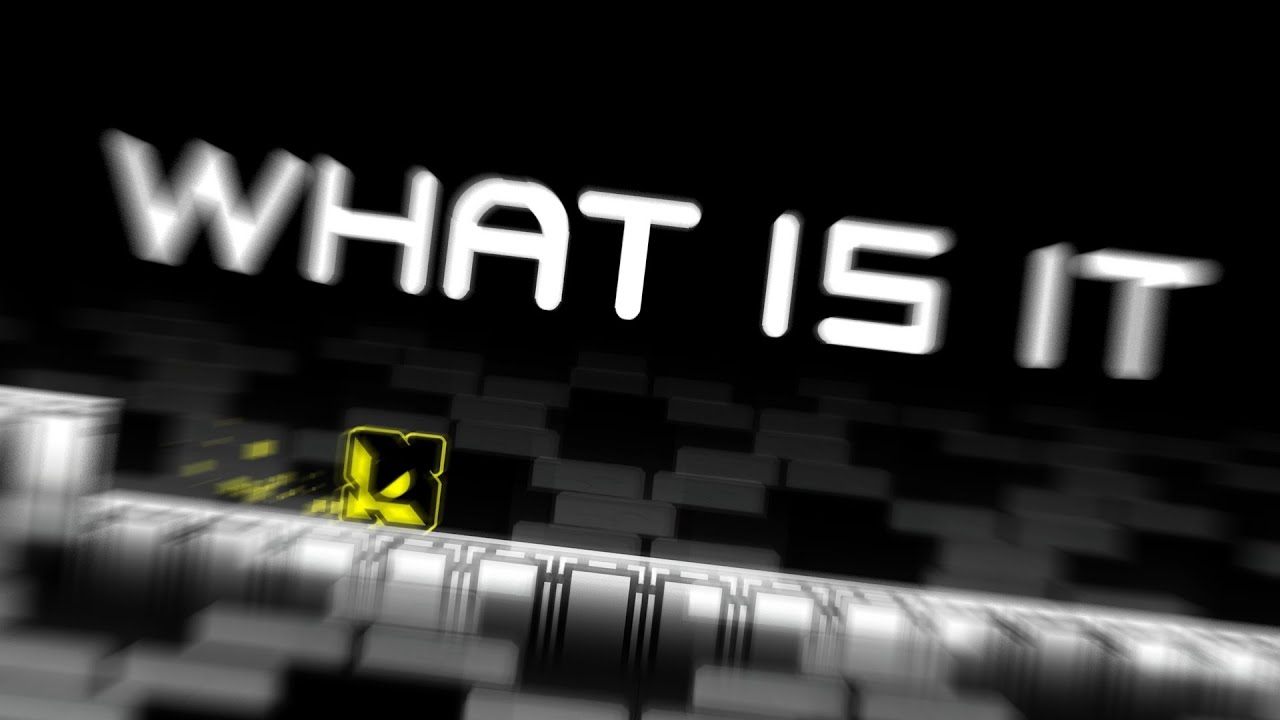 WHAT IS IT by Booglee  / GEOMETRY DASH / 2.1 / Retro
