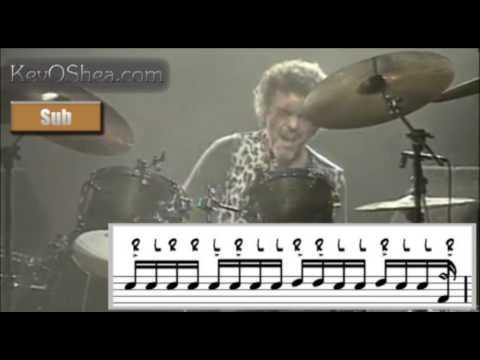 Steve Gadd Drum Solo Excerpt   Drum Transcription Lesson