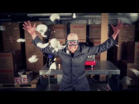 Coffee comes to life in this explosive music video from Sanremo UK