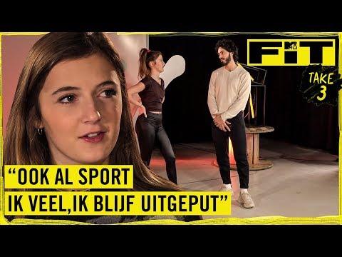 """JAMIE-LEE: """"Ik vind het belangrijk om er cool uit te zien tijdens het sporten""""   TAKE 3: FIT TALK"""