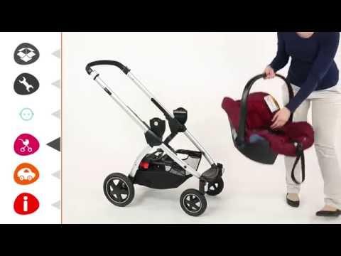 Maxi-Cosi Citi | установка автокресла
