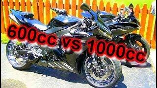 600cc vs 1000cc Sportbike - C2W