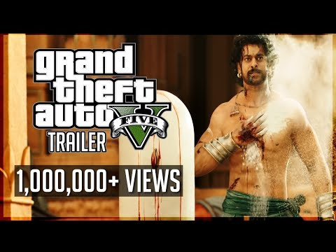 Baahubali 2 - The Conclusion Trailer Spoof in GTA V - 1000 Crore Tribute