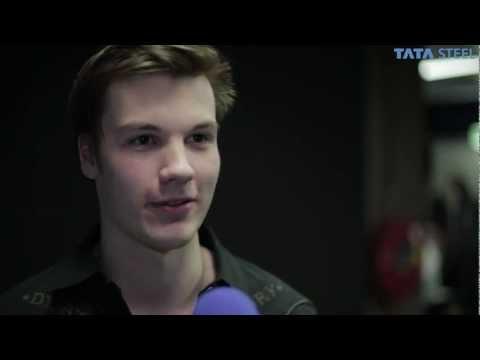 Tata Steel Chess 2013 - En passant Robin van Kampen round 8