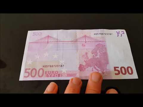 TÌM HIỂU VỀ TỜ TIỀN 500 EURO CÓ MỆNH GIÁ CAO NHẤT-  CUỘC SỐNG PHÁP