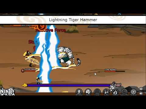 Ninja Saga VS Hunting House Bosses