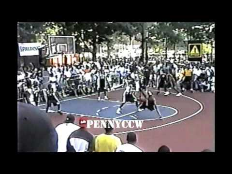Allen Iverson playing at the Rucker Park (1998) *RARE full game highlights and interviews