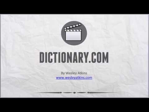 [ Create Your Own Website ] 8. Dictionary.com