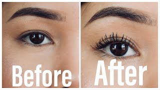 How to make your natural eyelashes appear full, longer | tips & tricks | Nepali edition