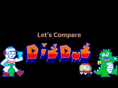 Let's Compare ( Dig Dug ) REMAKE