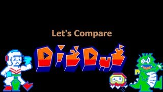 Let's Compare ( Dig Dug ) REMAKE