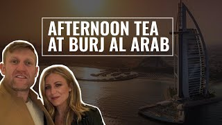 Afternoon tea at Burj Al Arab the only 7 star Hotel in the World