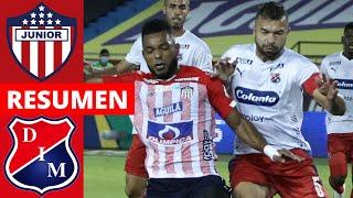 Junior 1-0 Medellín | Liga Dimayor 2021-I | Resumen de Goles y Táctica por Juan Felipe Cadavid