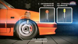 видео Регулируемые амортизаторы на ВАЗ 2112, 2111, 2110