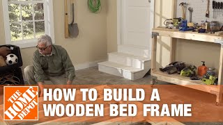 DIY Bed Frame: How to Make a Wooden Bed Frame | The Home Depot