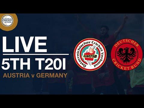 🔴  Live T20 International | Austria V Germany 5th Women's T20I | Cricket Live Stream