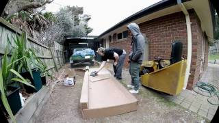 Fun Box Skate Sesh With Arjay Trillanes & Brent Woolnough