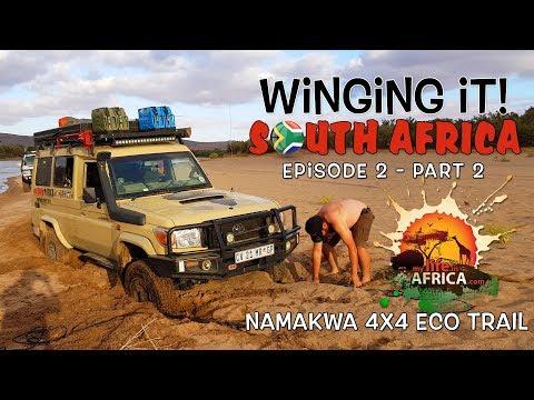 """WINGING IT"" Episode 2 - Namakwa 4x4 Eco Trail / Richtersveld / Kgalagadi Part 2/2"