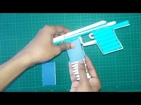 How To Make Paper Gun That Shoots Paper Bullets || Diy Paper Gun || You Can Do This