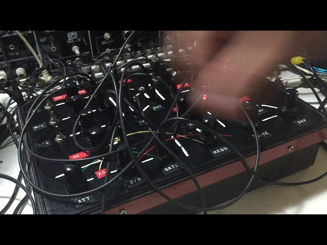 Engine P609: Semi-Modular Patchable Noise/Drone Synth