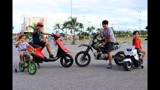 MINI MOTO 125cc E YAMAHA JOG 50cc
