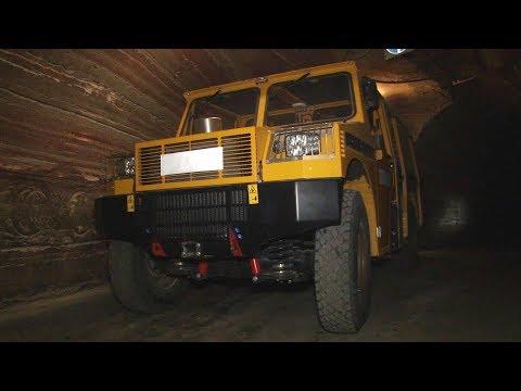 Импортозамещение. Новый  автомобиль «BELCA» проходит испытания шахтой