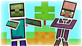 Minecraft mais tout est en papier !
