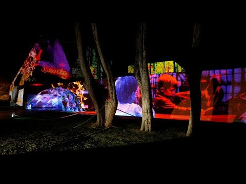 شاهد: عروض ضوئية وأشكال فنية في شوارع مدينة كشكايش البرتغالية…  - نشر قبل 2 ساعة