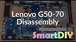 Lenovo G50-70 disassembly, fan cleaning and thermal paste replacement