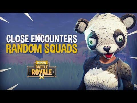 NEW MODE Close Encounters Random Squads!! - Fortnite Battle Royale Gameplay - Ninja