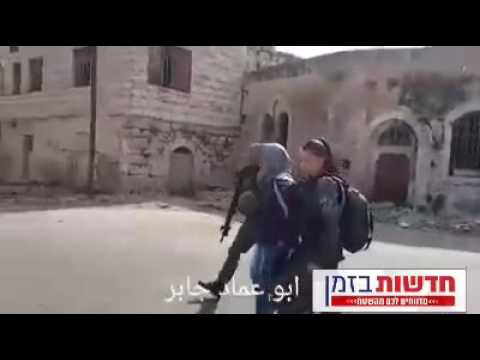 Terrorist apprehended in Hebron (Media Resource Group)