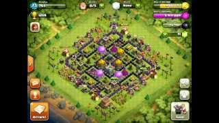 Clash of Clans [Defense] P.E.K.K.A's, Wizards, Healer, Barbarian King, Spells, & Level 5 Troops