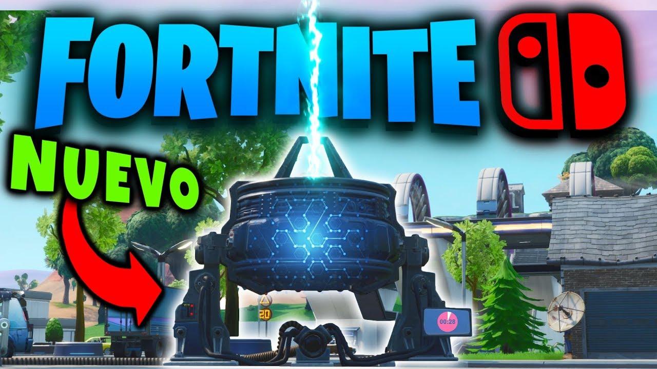 nueva BALIZA de GRIETA va a cambiar el mapa de FORTNITE 😲 Directo en  Nintendo SWITCH