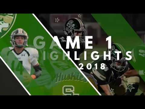 2018 Game 1 Highlights vs Valley View High School