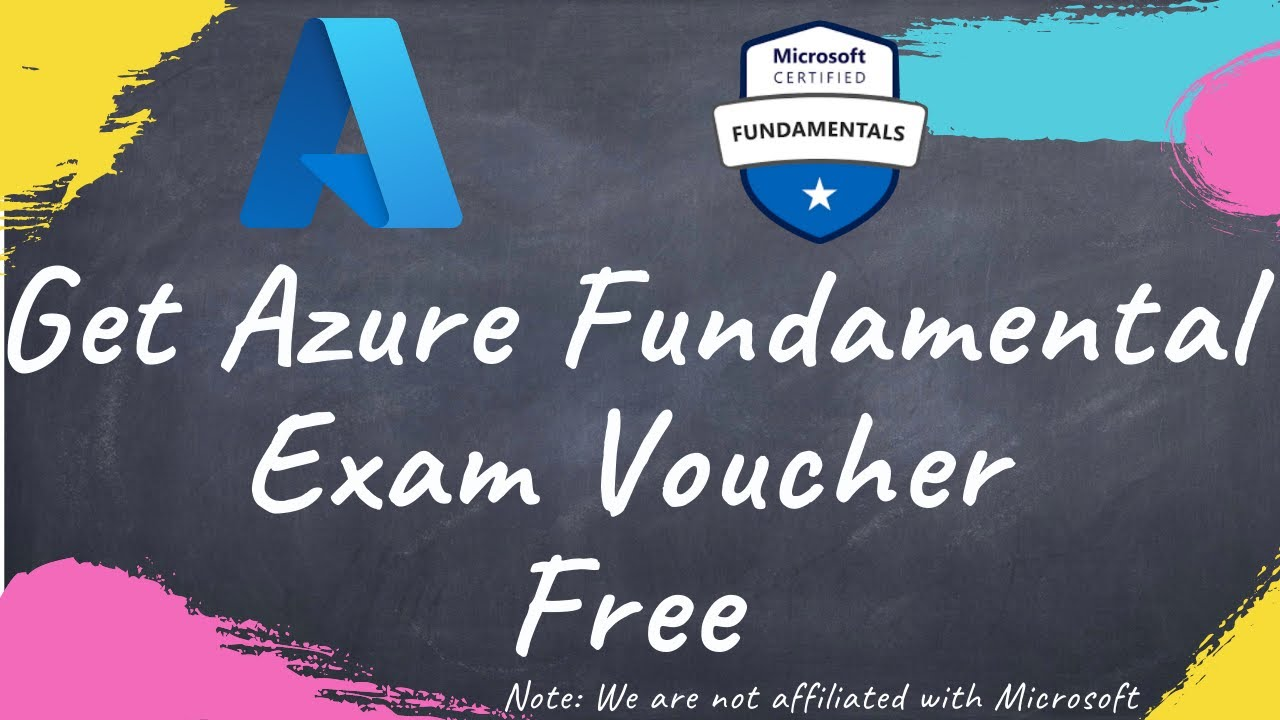 FREE [AZ-900] voucher Microsoft Azure Fundamentals with corporate email account